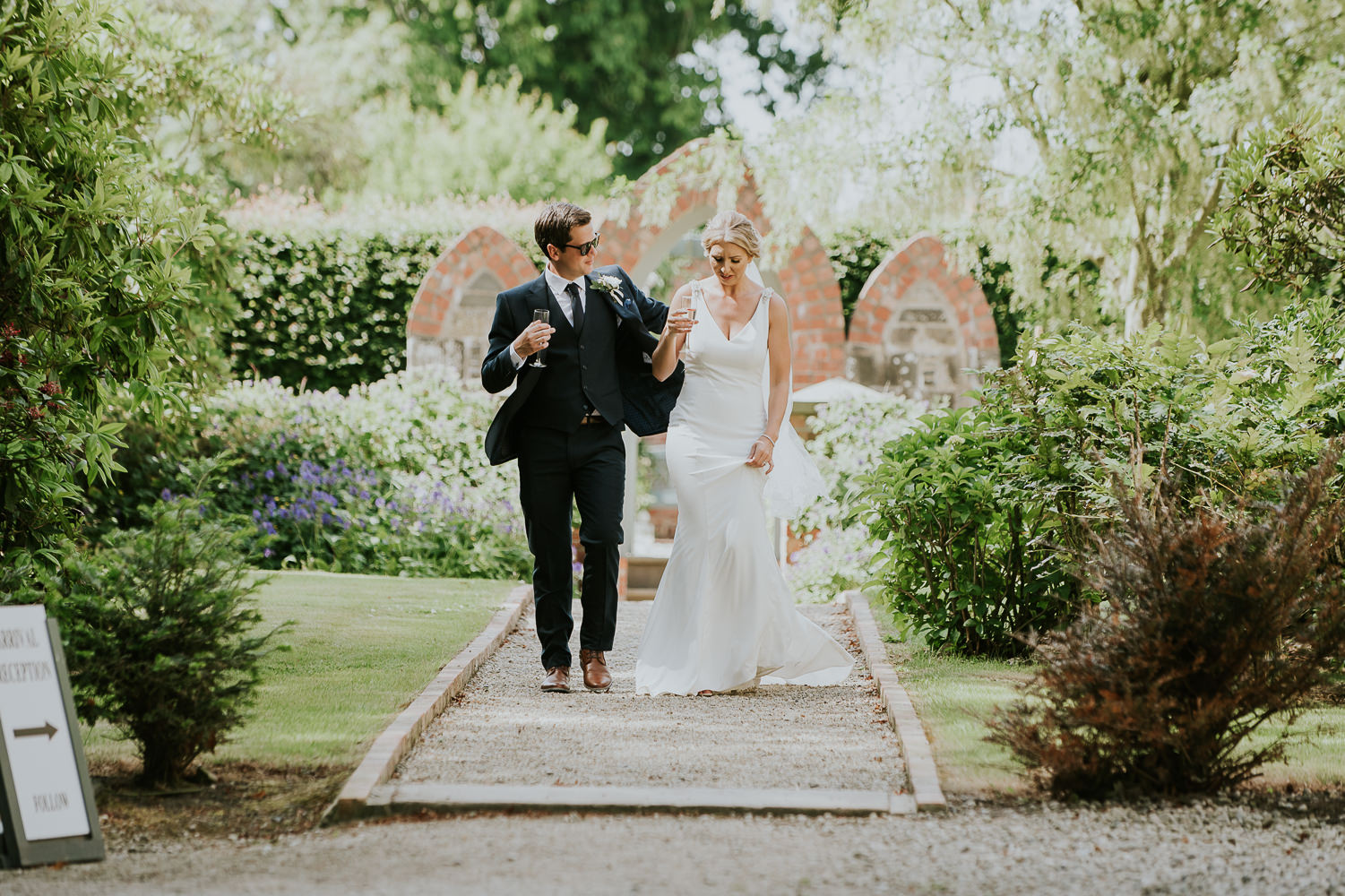Wedding at photography Tullyveery House by Jake Samuels Photography