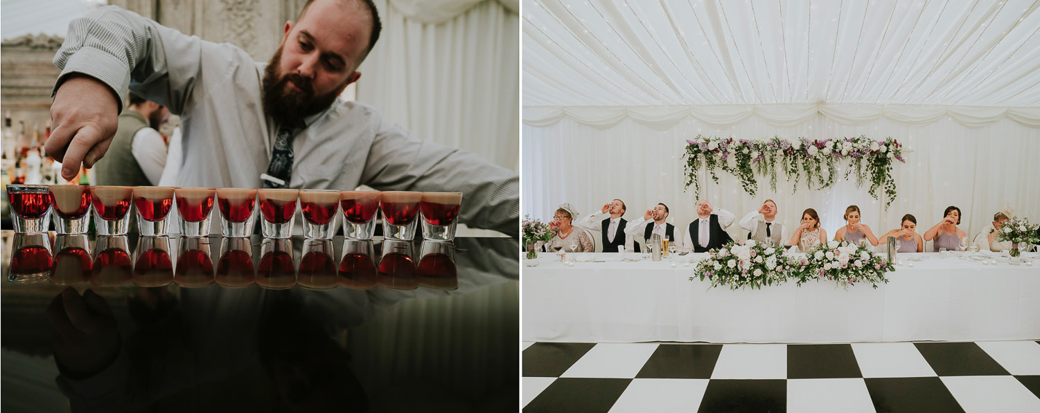 wedding photography Ivory Pavilion by Jake samuels Galgorm