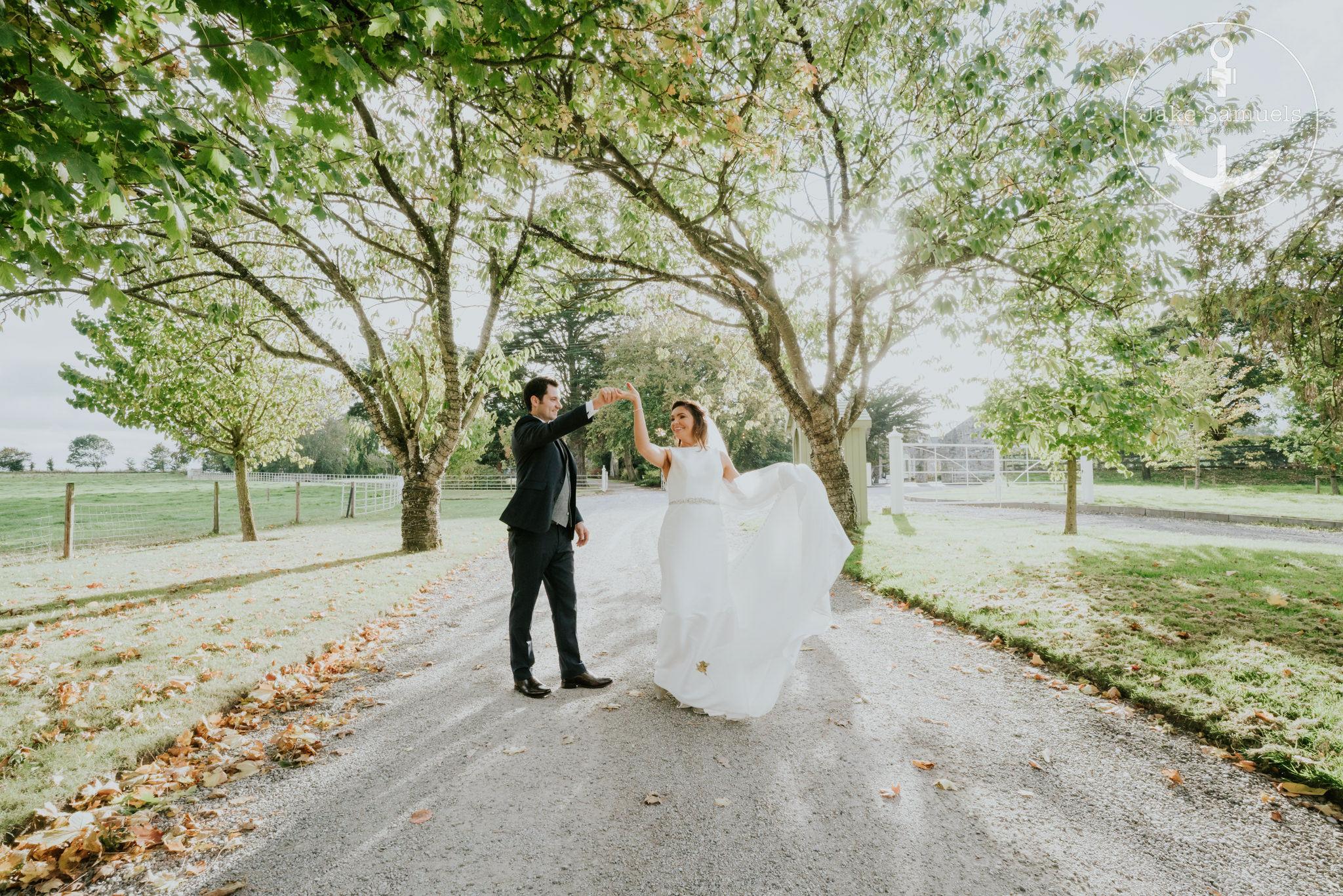 wedding photography ballymagarvey village by Jake smauels