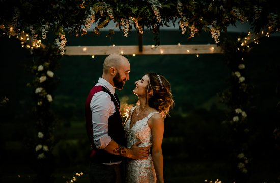 Sparklers Wedding Kilmore House Wedding Photography
