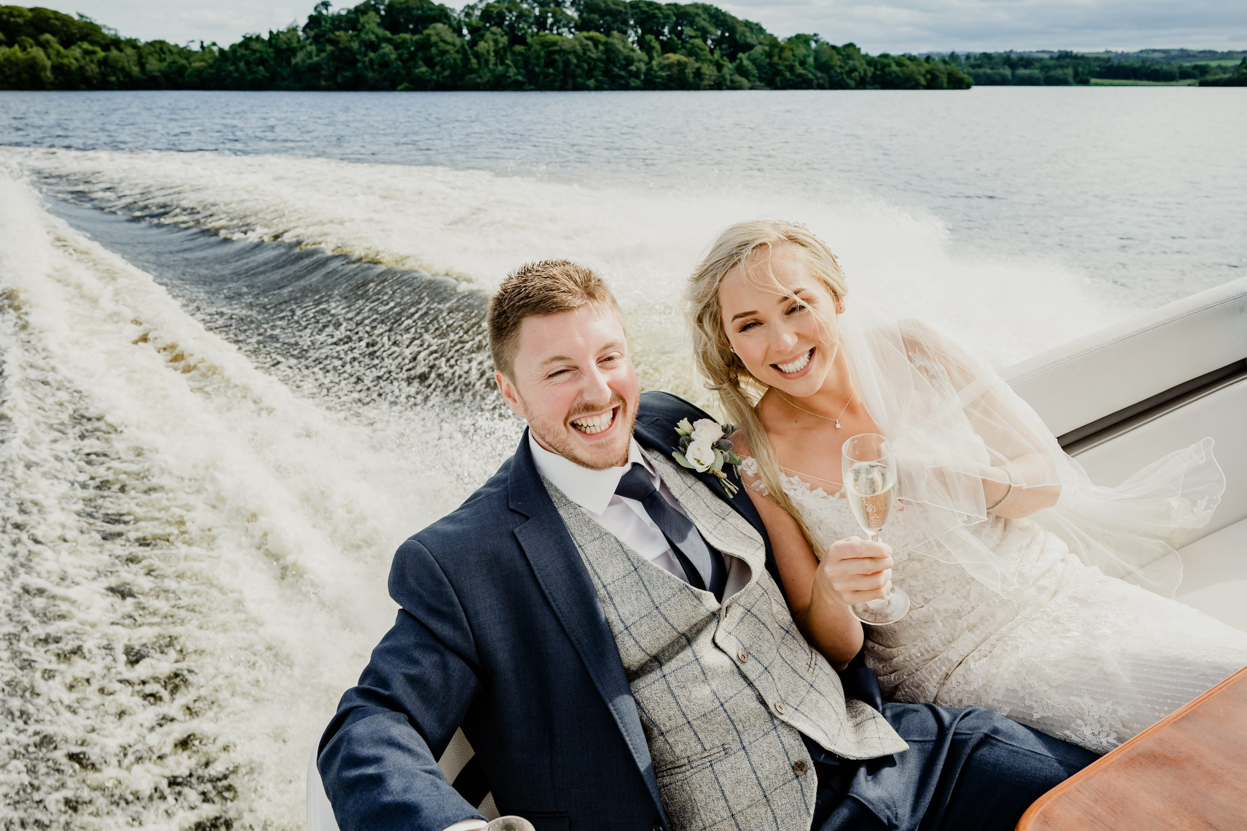 Wedding photography Lough Erne